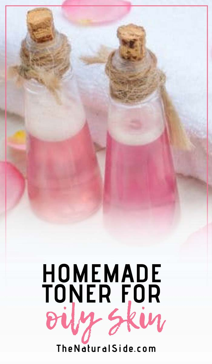Do You Have a Sticky and Oily Skin? Here is a simple DIY oily skin and oily skin remedy. A Homemade Toner for Oily Skin. via thenaturalside.com #oilyskin #diybeauty #homeremedy #skincare