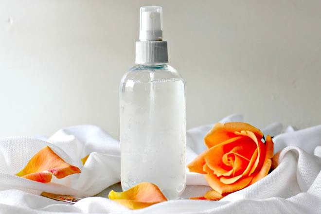 Homemade Toner for oily Skin