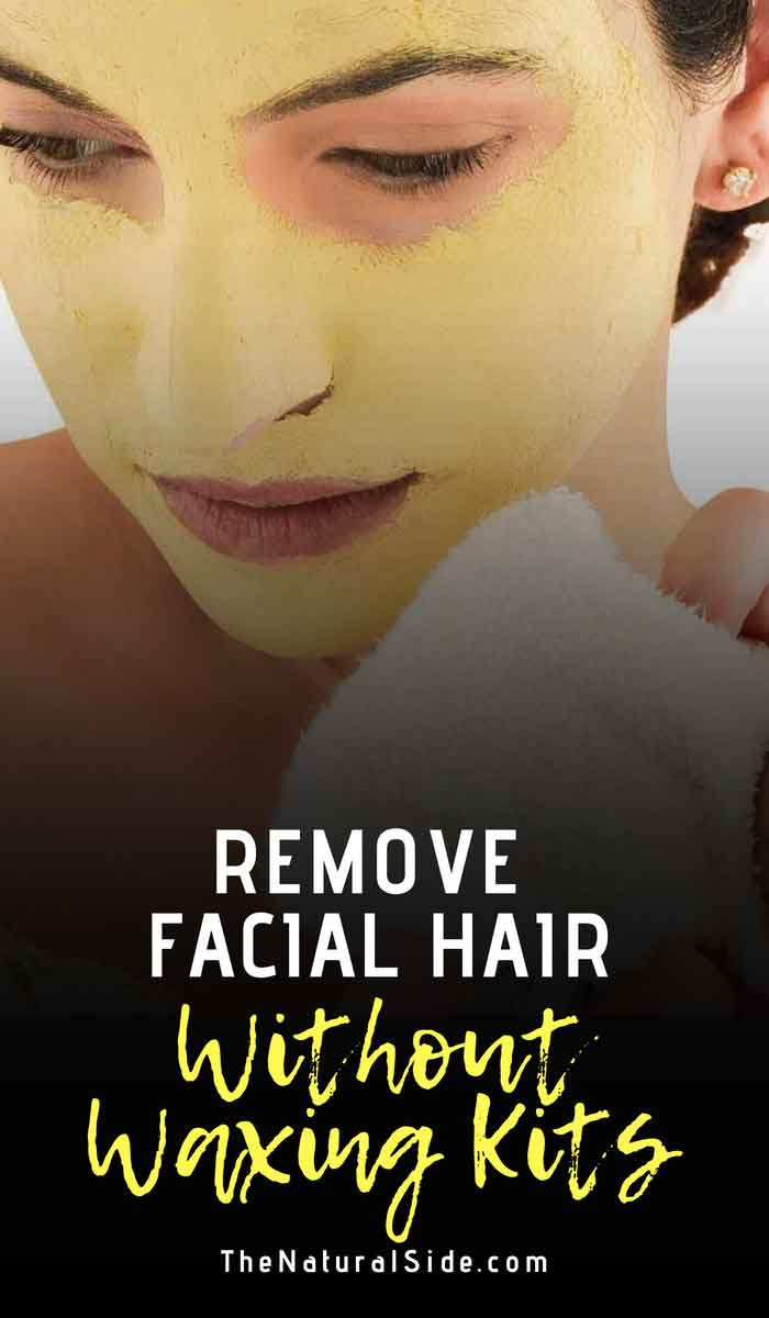 Are you getting sick and tired of shaving/waxing your face? Read on to find out how to remove unwanted facial hair naturally.