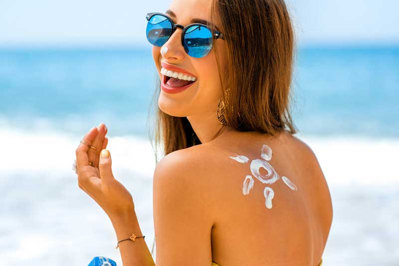 Remove Sun Tan Instantly