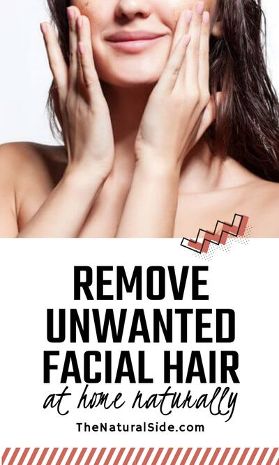 Want to get rid of get rid of facial hair? See a simple homemade remedy that will remove unwanted facial hair fast and easily. beauty tips and skin care via thenaturalside.com