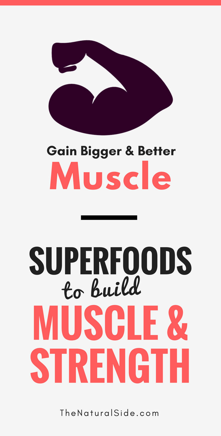Want to Gain bigger and better Muscles? Here are 9 superfoods to build muscle & Strength for everyone without equipment #buildmuscle