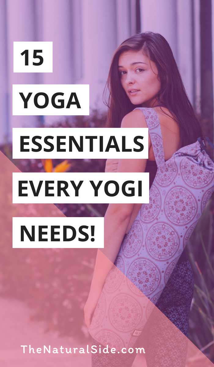 Add more intensity and agility to your morning sessions with the mix of these cool and essential items. 15 Awesome Yoga products! via thenaturalside.com #yoga #yogi