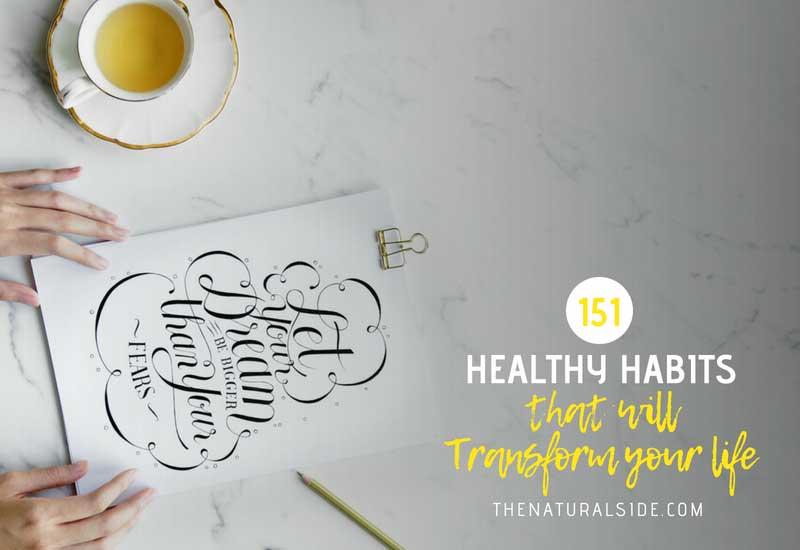 Huge Healthy Habits List