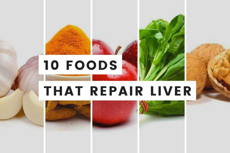foods good for liver repair diet