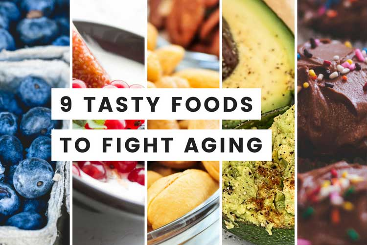 Searching for Slow Down the Aging? Here are 9 Best Anti Aging Foods Good for Skin and Hair that help you delay Aging Process.