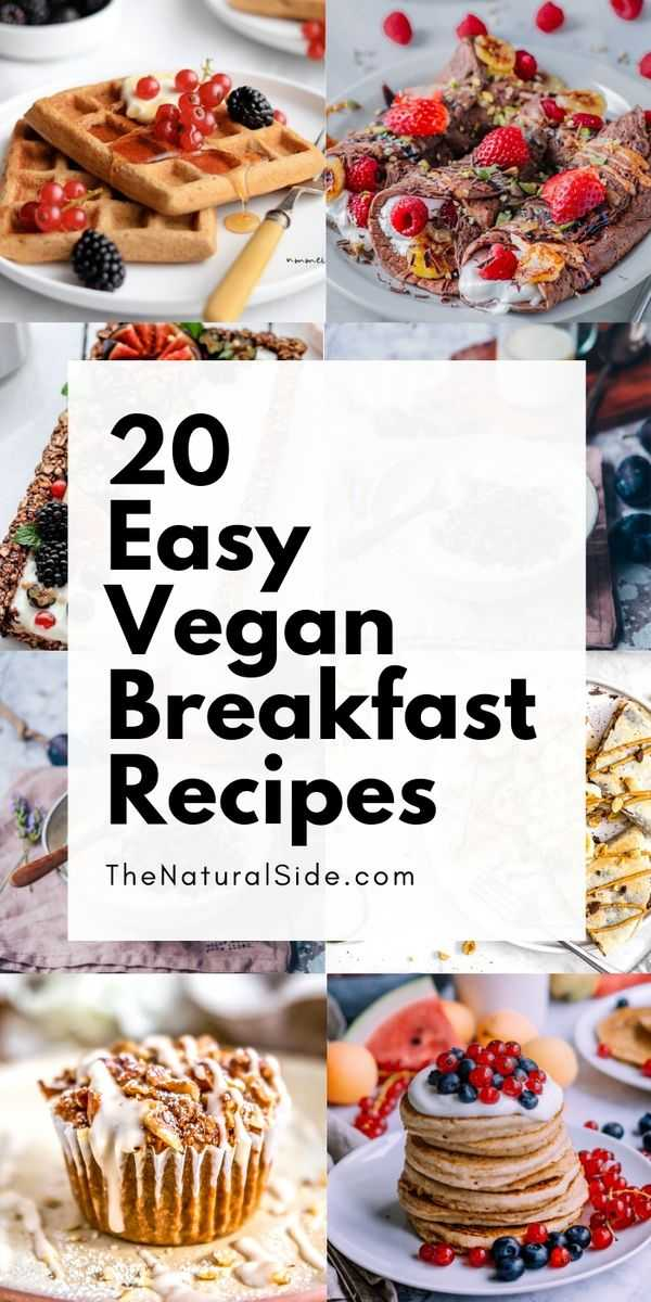 Are you ready to make your mornings more delicious and nutritious? Here are 20 Tasty vegan breakfast recipes may inspire you to change your favorite way to start your day.
