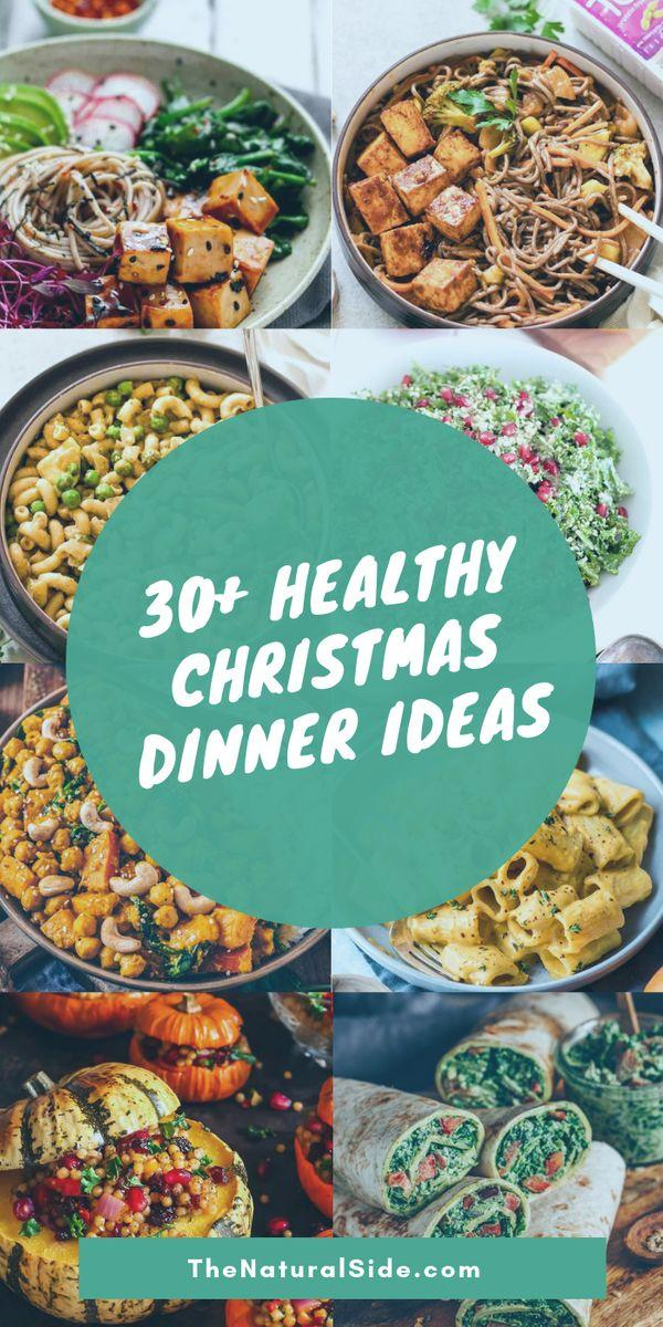Finding it hard to stay healthy at Christmas? 30+ Healthy Christmas Dinner Ideas for Entire Christmas Month. christmas recipes dinner | christmas dinner ideas | dinner ideas christmas | dinner christmas #vegan #christmas #christmasdinner #dinnerrecipes