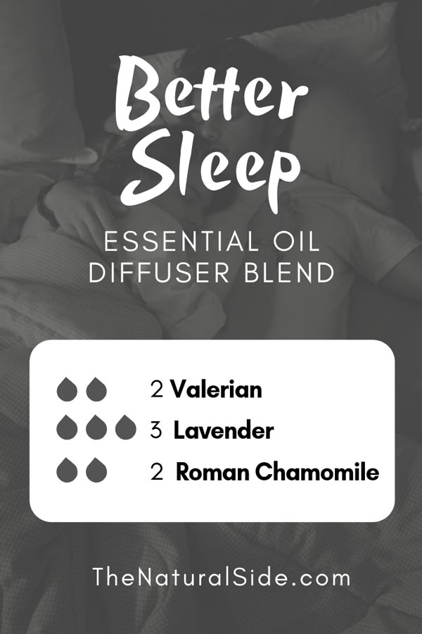 New to Essential Oils? Searching for Simple Essential Oil Combinations for Diffuser? Check out these 21 Easy Essential Oil Blends and Essential Oil Recipes Perfect for Beginners. #essentialoil #diffuser #sleep Better Sleep Blend 2 drops valerian + 3 drops lavender + 2 drops roman chamomile