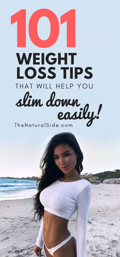 Losing weight fast and easy can be a challenge for everyone. Discover these 101+ Weight Loss Tips That Make Losing Weight Super Simple! weight loss via thenaturalside.com #fitness #weightloss #fit #skinny