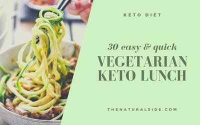 Vegetarian Keto Diet: 30 Packable Keto Lunch Ideas to Accelerate Fat Loss