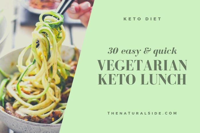 If you're looking for easy vegetarian keto lunch ideas, you've come to the right place. Find 30 Easy Keto Lunch Ideas that are perfect for Weight Loss.