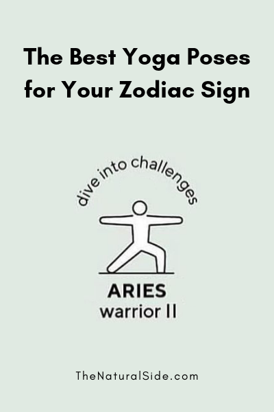 The Best Yoga Poses for Your Zodiac Sign - ARIES - Warrior II