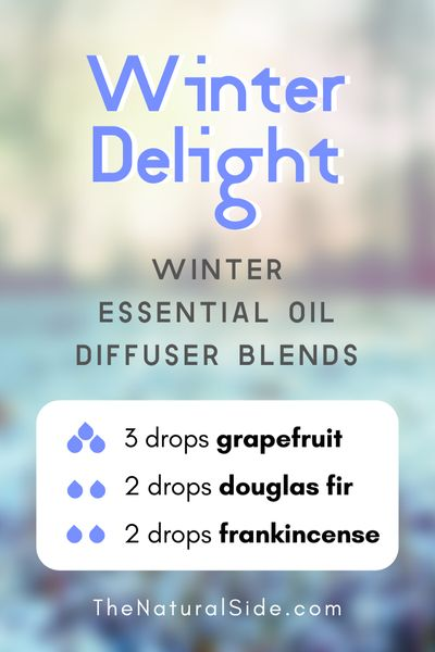 | Essential Oils via thenaturalside.com #essentialoils #winter #diffuser