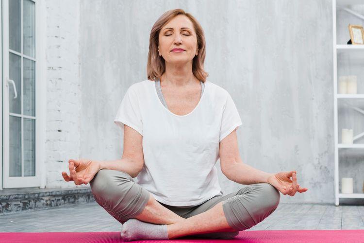 Yoga for Older Women: 10 Easy Yoga Poses for Women over 60