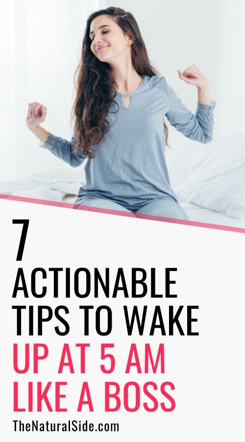 7 Actionable Tips to Wake Up at 5 AM like a boss