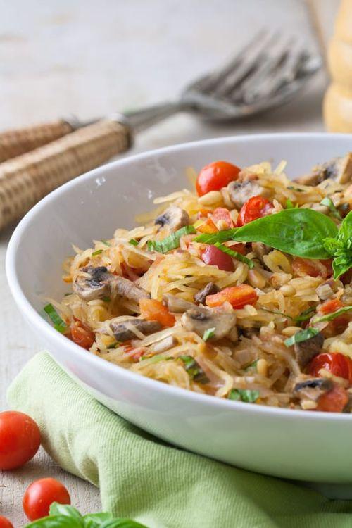 Spaghetti Sqaush Keto   vegetarian keto recipes   meatless low carb meals